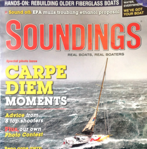 The cover of the July 2009 issue of Soundings.